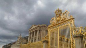 ベルサイユ宮殿の城門