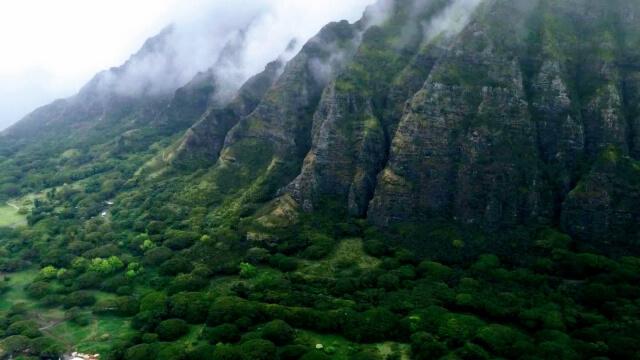 ハワイの山々