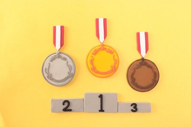 競争のメダル