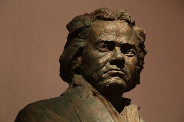 ベートーヴェンの像