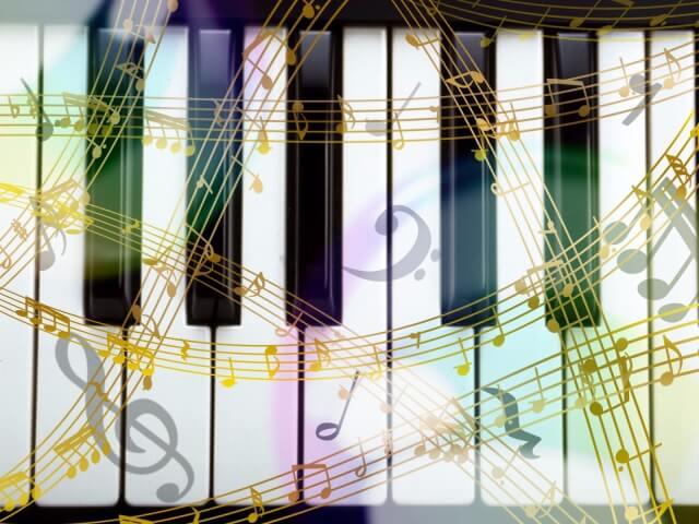 鍵盤のイメージ