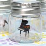 ピアノのボトルアート